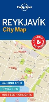 Lonely Planet Reykjavik City Map - Lonely Planet Lonely Planet