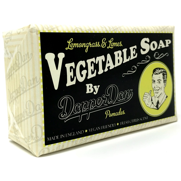 Dapper Dan Soap Lemongrass & Limes - Dapper Dan