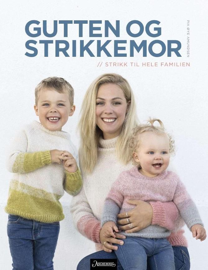 Guttenogstrikkemor Pia Øye Amundsen Ole Ekker, strikkeboktips fra Mammutsalget