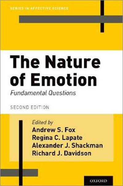 The Nature of Emotion - Andrew S. Fox