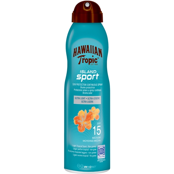 Island Sport Sun Protection Spray SPF 15 - Hawaiian Tropic