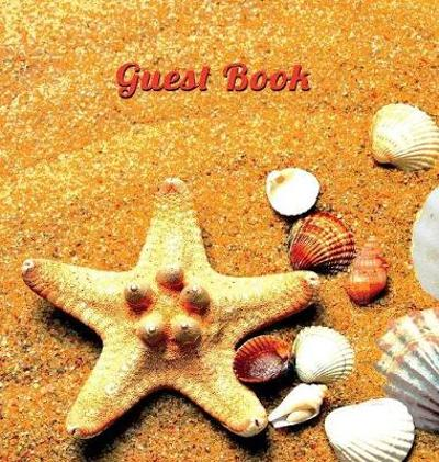 Guest Book for Vacation Home (Hardcover), Visitors Book, Guest Book for Visitors, Beach House Guest Book, Visitor Comments Book. - Angelis Publications