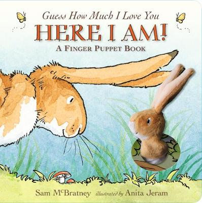 Guess How Much I Love You: Here I Am A Finger Puppet Book - Sam McBratney