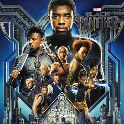 Black Panther Official 2019 Calendar - Square Wall Calendar Format -
