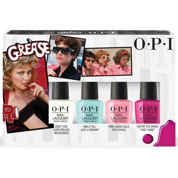 OPI Nail Lacquer Grease Collection Set - OPI