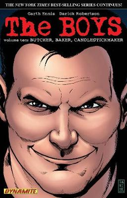 The Boys Volume 10: Butcher, Baker, Candlestickmaker - Garth Ennis Signed - Garth Ennis