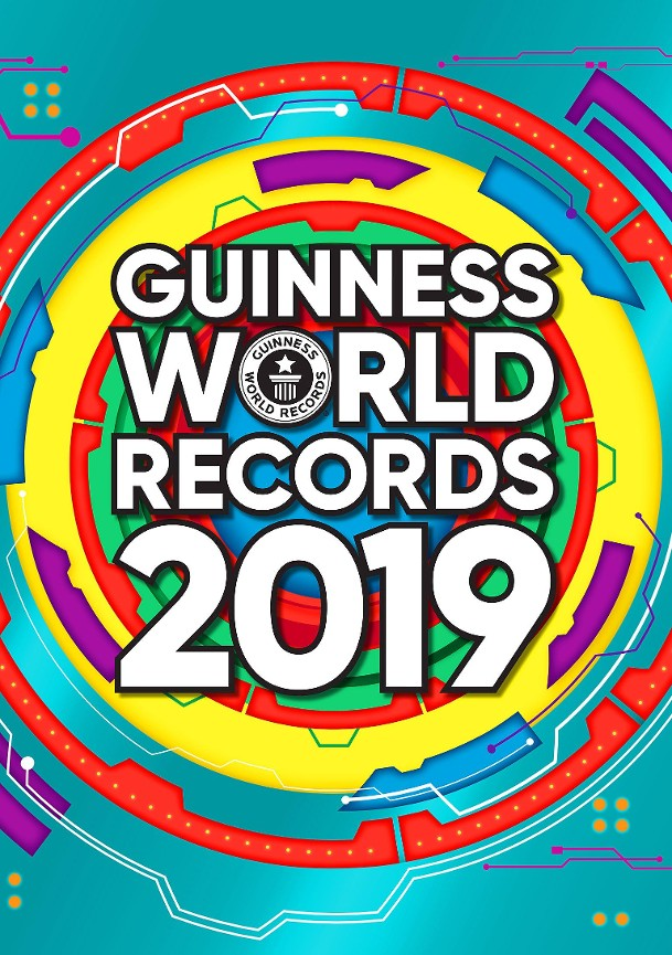 Guinness world records 2019 - Craig Glenday