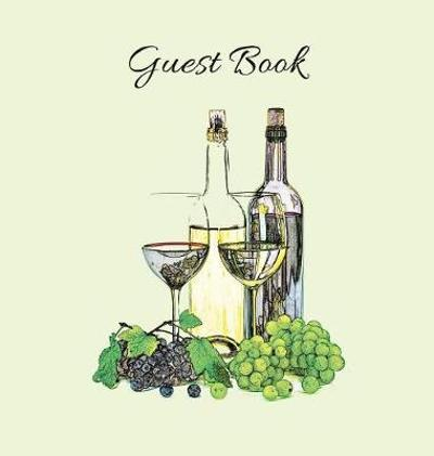Guest Book (Hardcover), Party Guest Book, Guest Comments Book, House Guest Book, Vacation Home Guest Book, Special Events & Functions Visitors Book - Angelis Publications