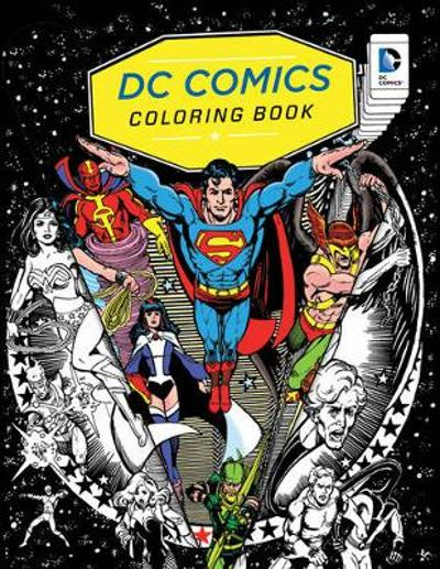 DC Comics Coloring Book - Insight Editions