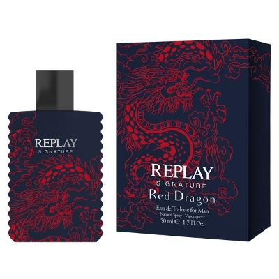 Replay Signature Red Dragon for Him - Edt - Replay