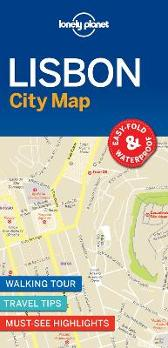 Lonely Planet Lisbon City Map - Lonely Planet Lonely Planet