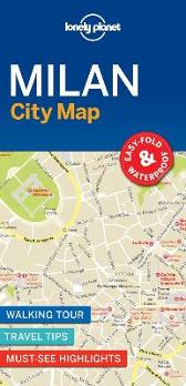 Lonely Planet Milan City Map - Lonely Planet Lonely Planet