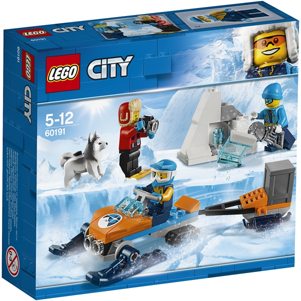 60191 LEGO City Arktisk utforskningsteam - LEGO