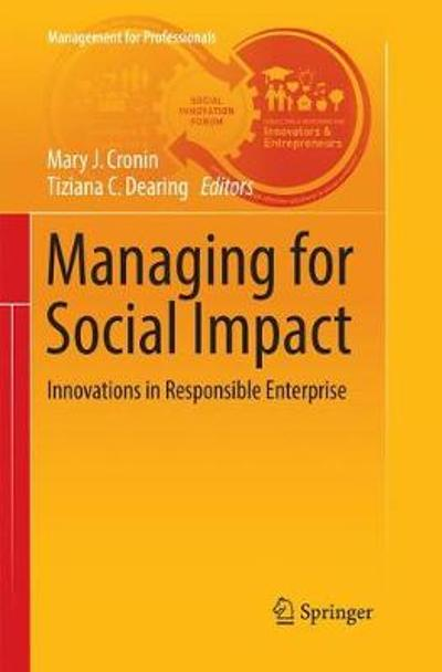 Managing for Social Impact - Mary J. Cronin