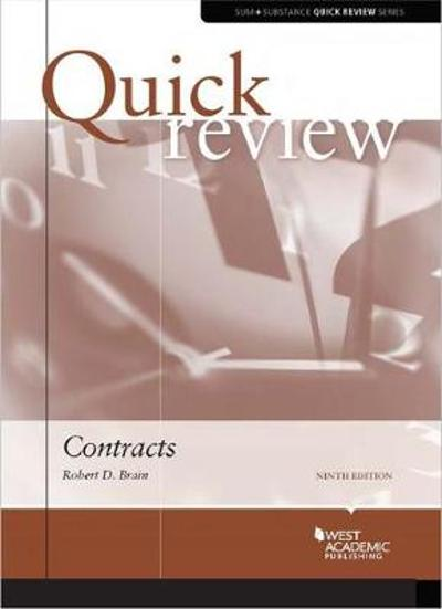 Quick Review of Contracts - Robert Brain