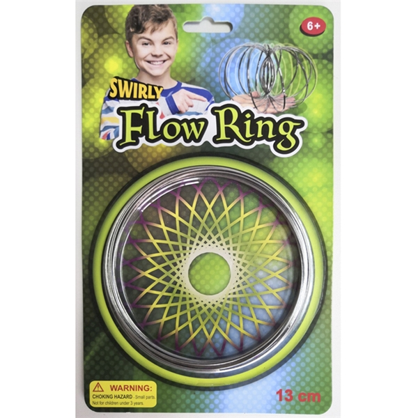 Swirly Flow Ring Metall - Suntoy