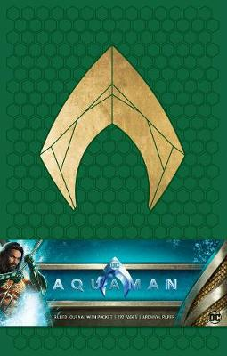 Aquaman Hardcover Ruled Journal - Insight Editions