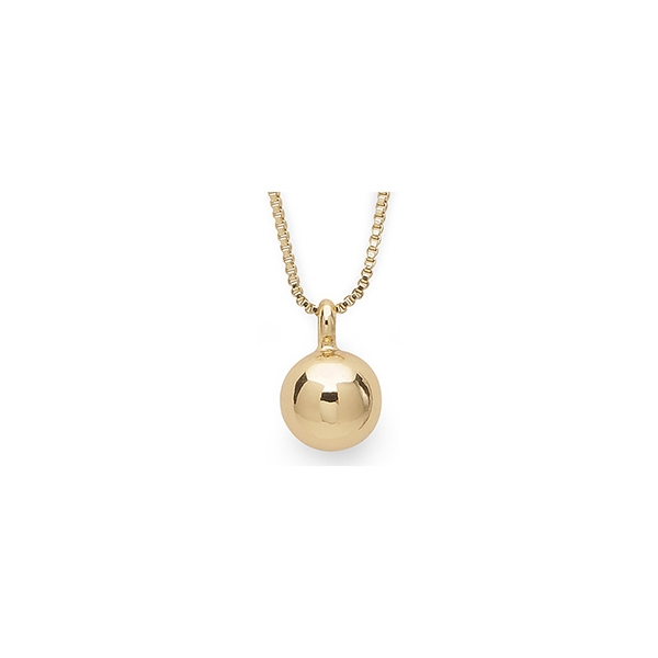 Poe Small Gold Necklace - Pilgrim