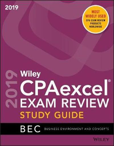 Wiley CPAexcel Exam Review 2019 Study Guide - Wiley