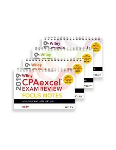 Wiley CPAexcel Exam Review 2019 Focus Notes - Wiley