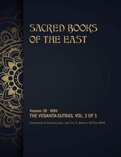 The Vedanta-Sutras - Max Muller
