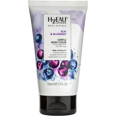 Acai & Blueberry Gentle Body Scrub - H2EAU LONDON