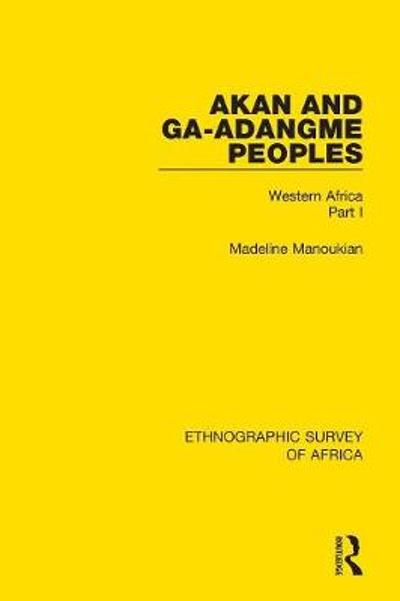 Akan and Ga-Adangme Peoples - Madeline Manoukian