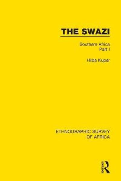 The Swazi - Hilda Kuper