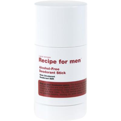 Recipe for Men Deodorant Stick - Recipe for Men