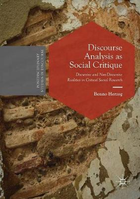 Discourse Analysis as Social Critique - Benno Herzog