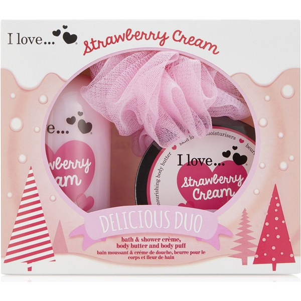 Strawberry Cream Takeaway Duo - I Love...