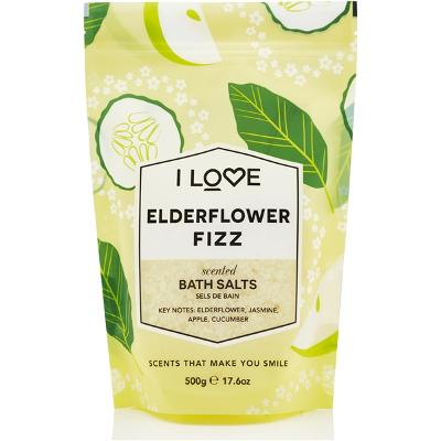 Elderflower Fizz Scented Bath Salts - I Love...
