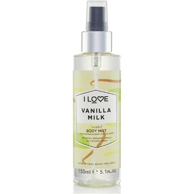 Vanilla Milk Scented Body Mist - I Love...