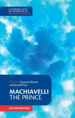 Cambridge Texts in the History of Political Thought - Niccolo Machiavelli