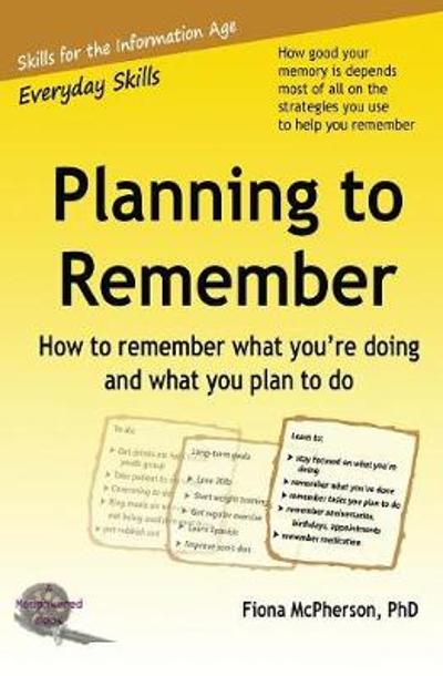 Planning to Remember - Fiona McPherson