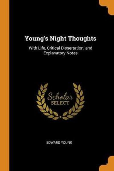 Young's Night Thoughts - Edward Young