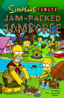 Simpsons Comics Jam-Packed Jambor - Matt Groening