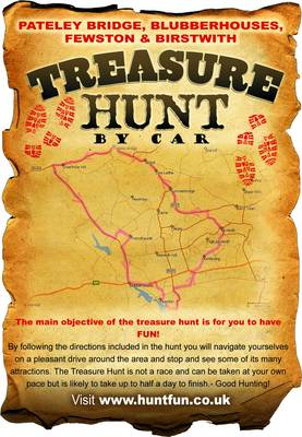 Pateley Bridge, Blubberhouses, Fewston and Birstwith Treasure Hunt by Car - Stephen Whetstone