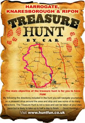 Harrogate, Knaresborough and Ripon Treasure Hunt by Car - Stephen Whetstone