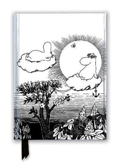 Moomin and Snorkmaiden from Finn Family Moomintroll (Foiled Journal) - Flame Tree Studio