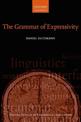 The Grammar of Expressivity - Daniel Gutzmann
