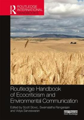 Routledge Handbook of Ecocriticism and Environmental Communication - Scott Slovic