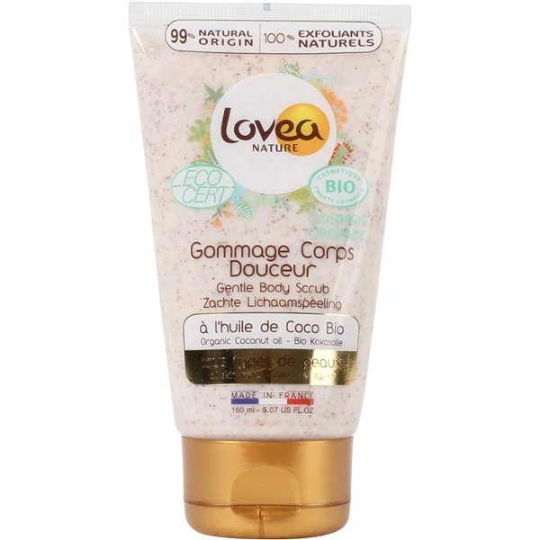 Lovea Bio Gentle Body Scrub Coconut Oil - Lovea