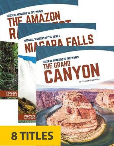 Natural Wonders of the World (Paperback Set of 8) - Various Various