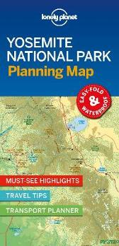 Lonely Planet Yosemite National Park Planning Map - Lonely Planet Lonely Planet