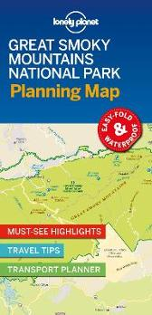 Lonely Planet Great Smoky Mountains National Park Planning Map - Lonely Planet Lonely Planet