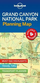 Lonely Planet Grand Canyon National Park Planning Map - Lonely Planet Lonely Planet