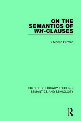 On the Semantics of Wh-Clauses - Marjorie Boulton