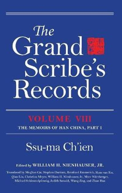 The Grand Scribe's Records, Volume VIII - Ssu-ma Ch'ien