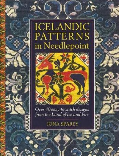 Icelandic Patterns in Needlepoint - Jona Sparey
